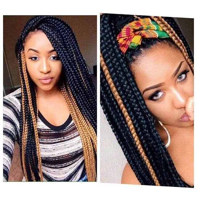 black hairstyles for long hair 2018
