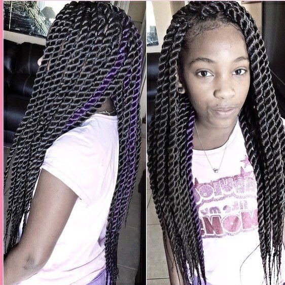 black hairstyles for long hair ideas