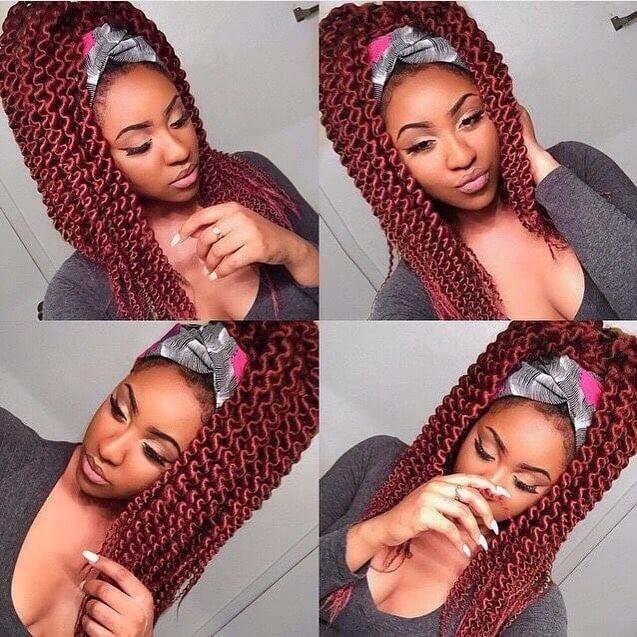 black hairstyles long
