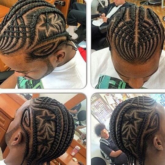 black hairstyles men