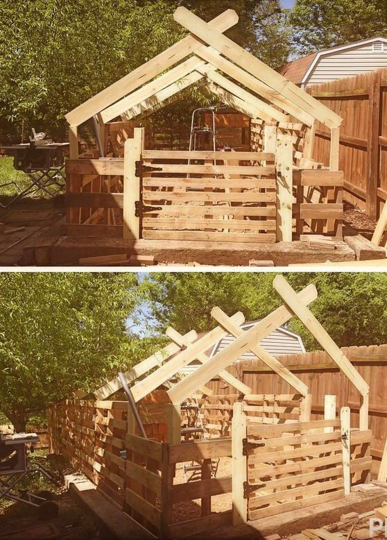 building a chicken coop for free