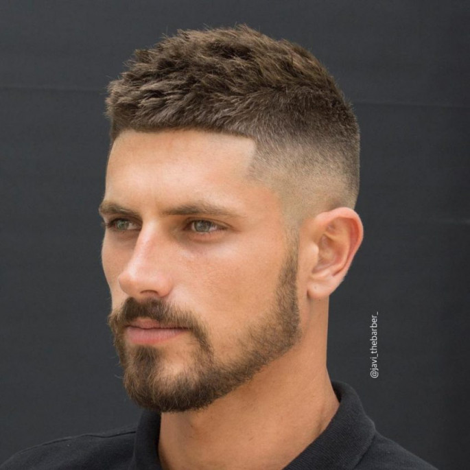 Crew Cut Hairstyle for Men 2018