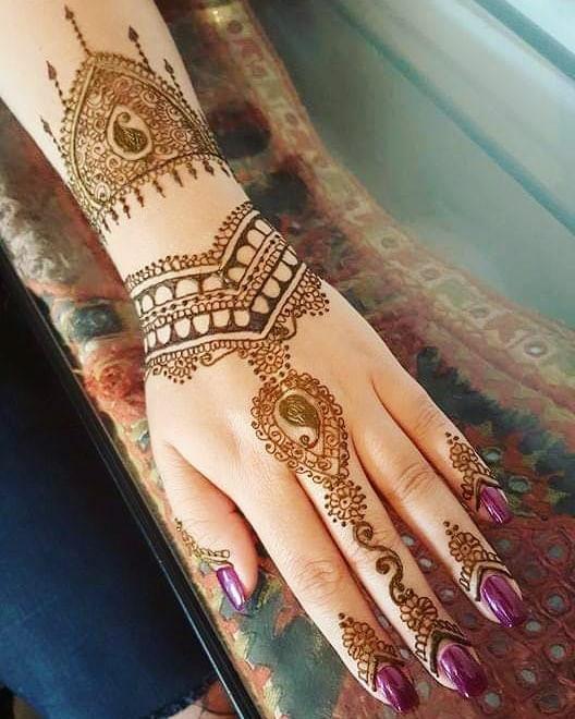 backhand mehndi designs ideas
