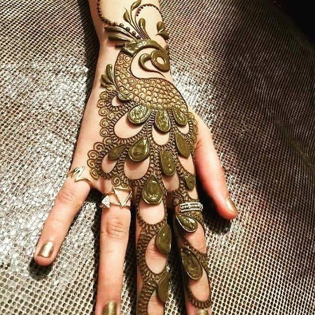 creative backhand mehndi design ideas