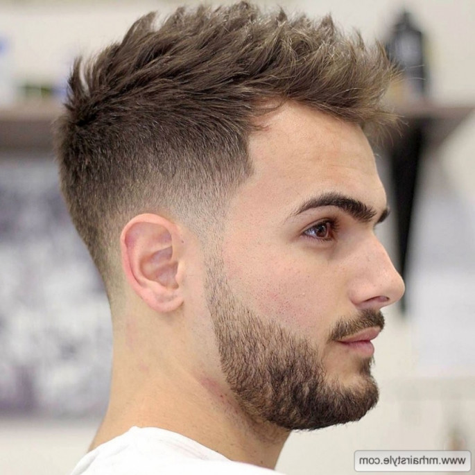 Short Spike Hairstyle Best Short Hairstyles for Men