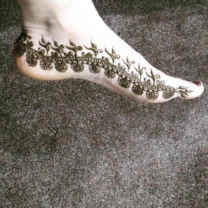 foot mehndi designs 2018