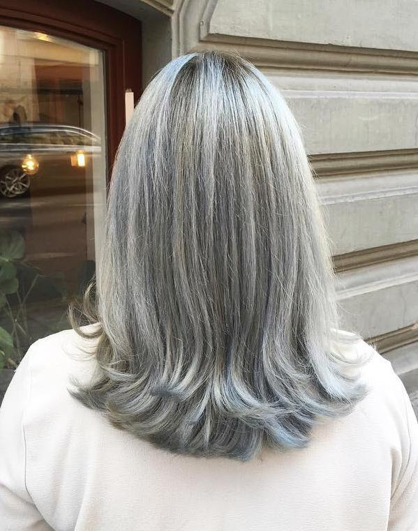 Soft GOLD for MEDIUM LENGTH HAIR