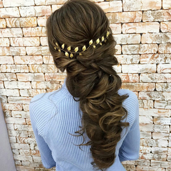 Grecian-Inspired Ponytail Braided Hairstyles for Women