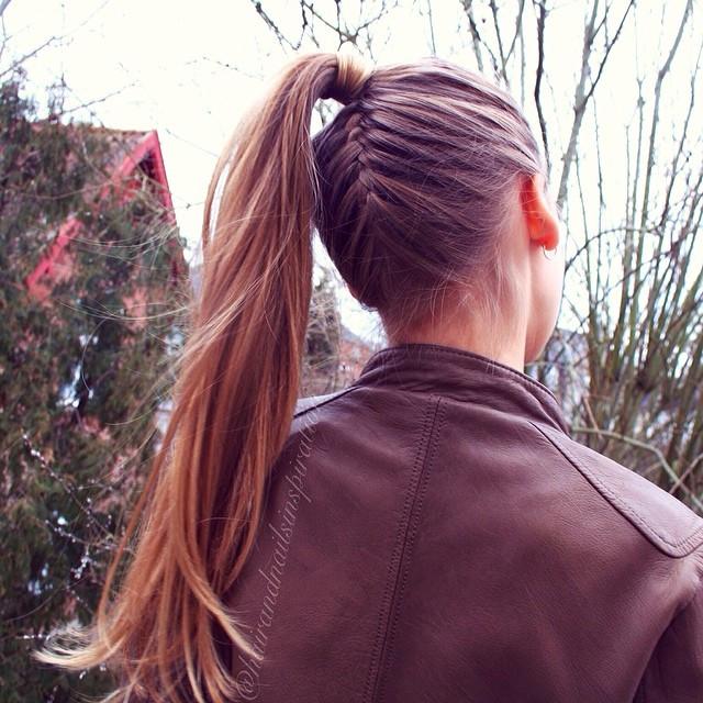 Underside Braided Hairstyles for Women