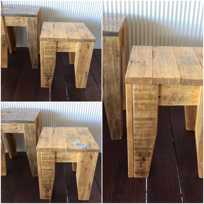Pallet Wood Stools Projects