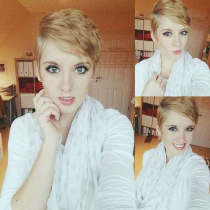 Short hairstyles for Teen girls