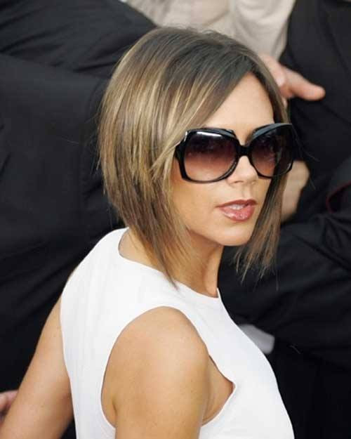Asymmetrical bob cuts