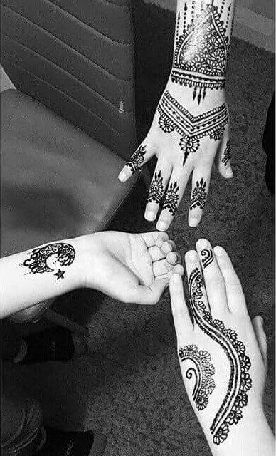 Stunning Mehndi Designs on Religious Event (Eids)