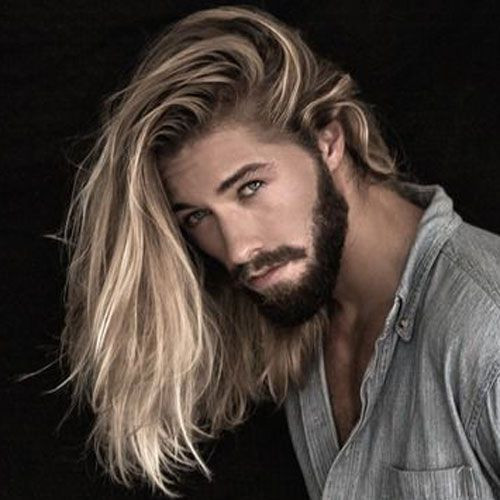mens extra long hairstyles 2018
