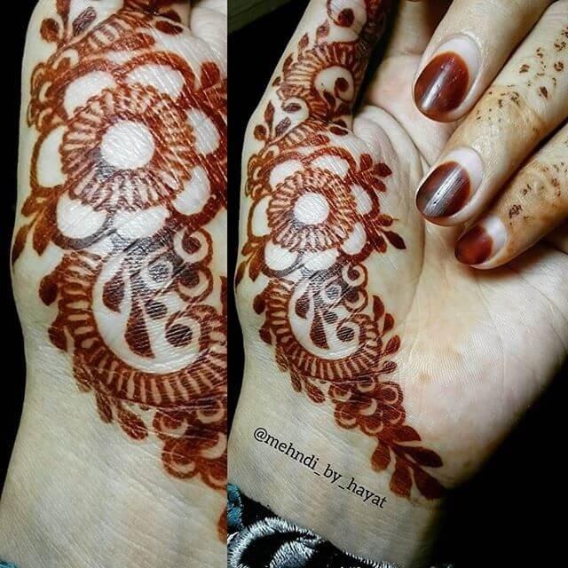 Festive Henna Design