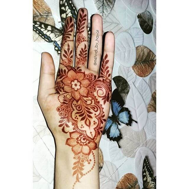 New and gorgeous Simple Fullhands Henna Designs 2018