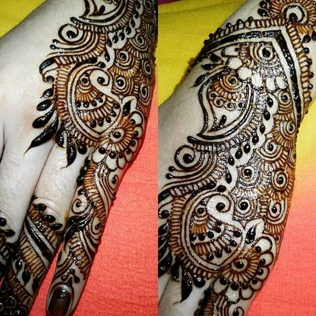 New and gorgeous Simple both hands Henna Designs 2018