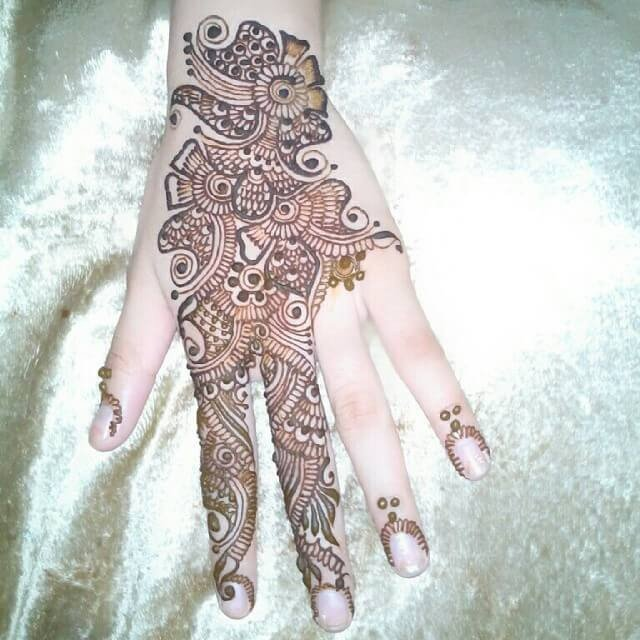 RINGED HENNA DESIGNS FOR HANDS 2018