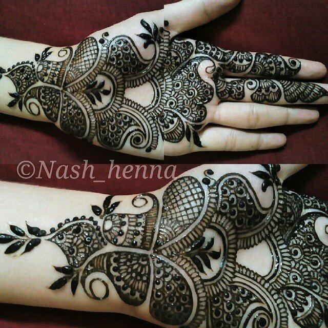 Bridal Front hands mehndi design 2018