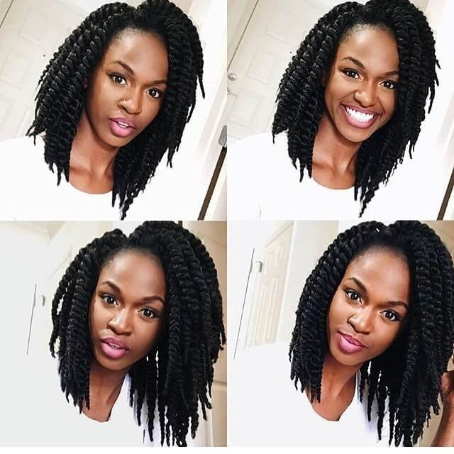 55+ Easy Natural Hairstyles for Black Women ideas