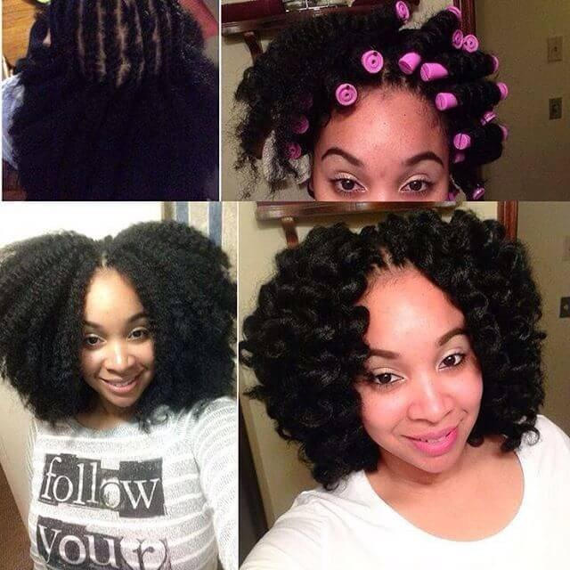 55+ Easy Natural Hairstyles ideas for Black Women
