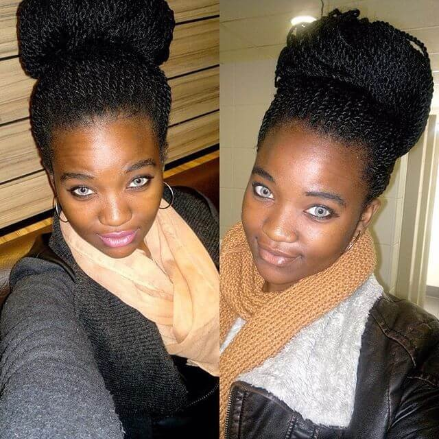 55+ classy Natural Hairstyles ideas for Black Women
