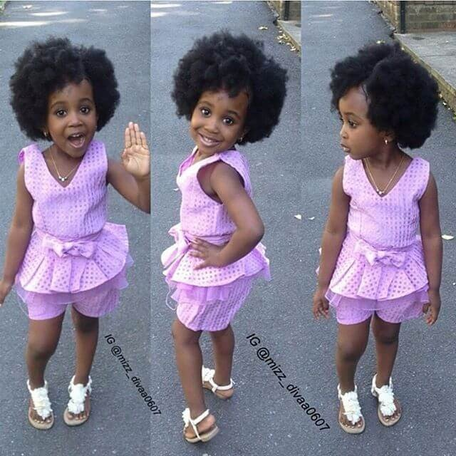 black hairstyles for little kids