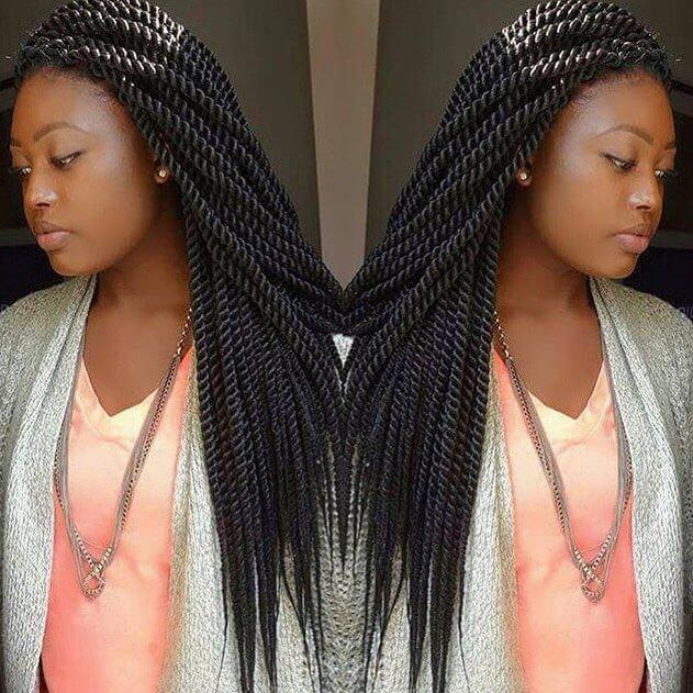55 Beautiful Black Women Hairstyles in 2018