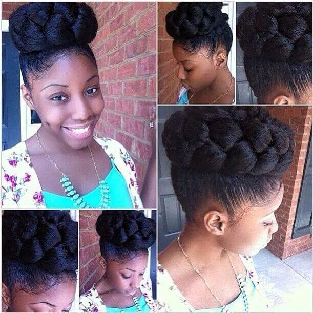 55 Beautiful large Black Women Hairstyles 2018