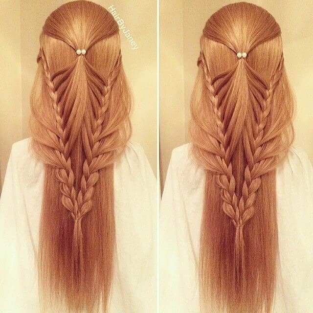 34 Top Women Hairstyles for Long Hair on Festivals