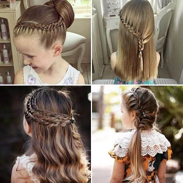 Step by step Long hairstyles ideas for little girl 2018