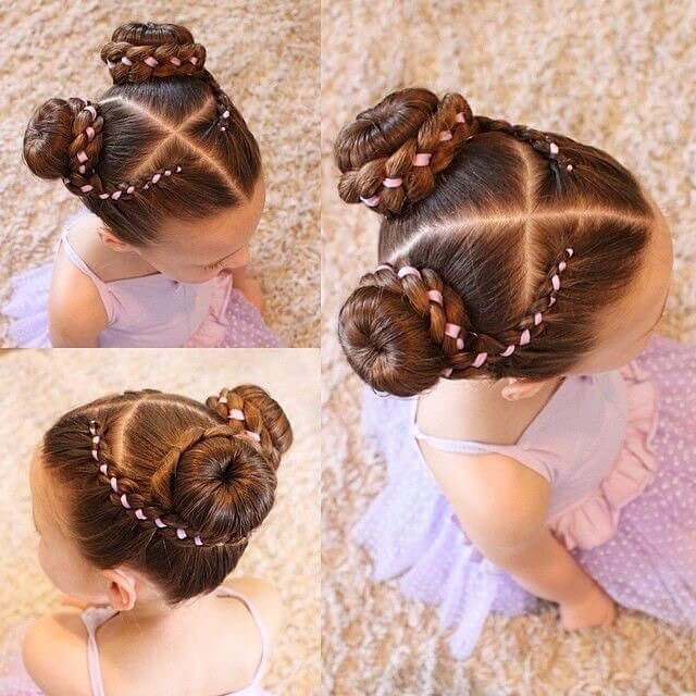 Cute little kids hairstyles ideas for wedding