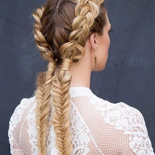Step by step Long hairstyles ideas for girl on festivals