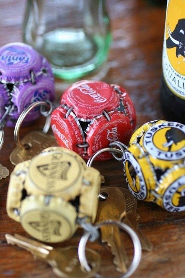 Waste Bottle Caps Ideas To Make Crafts