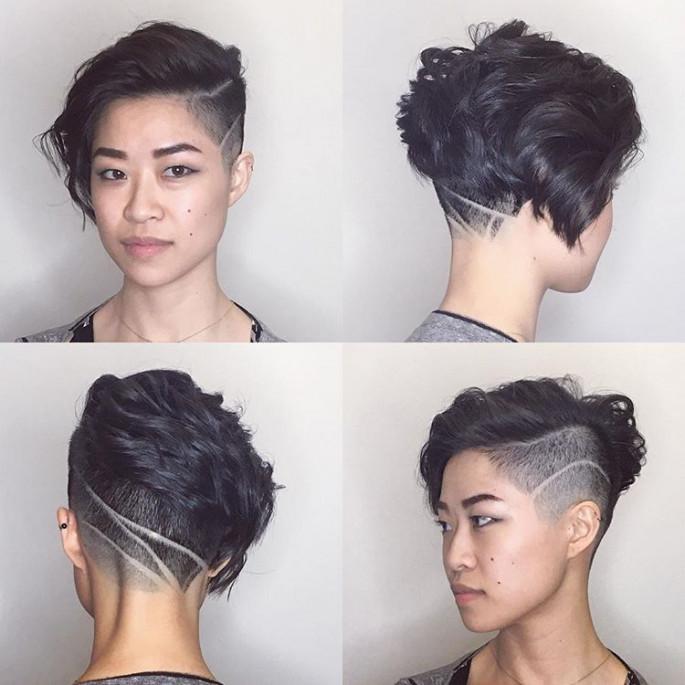 Gorgeous Gravity- Defying Curls