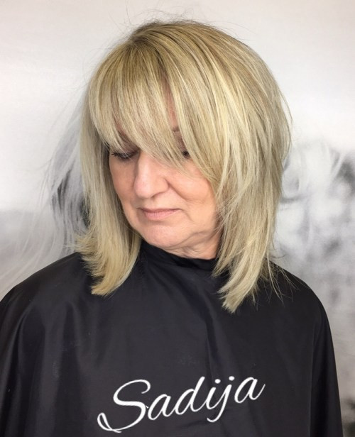 Deep Part Hairstyles for Older Women 2019 You Will Amaze