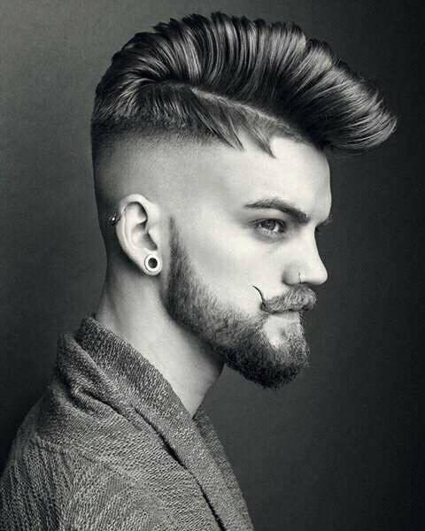 Spiky Modern Undercut ideas