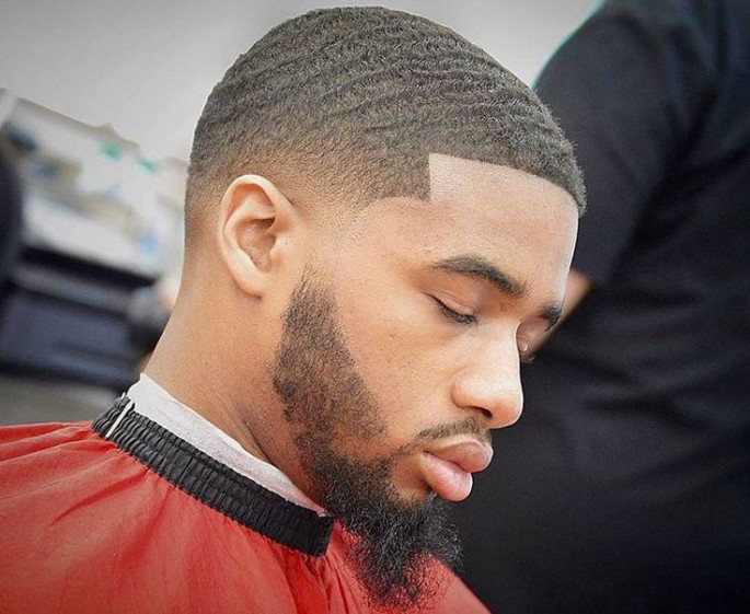 Defined Wave Cut Haircuts & Hairstyles for Black Men