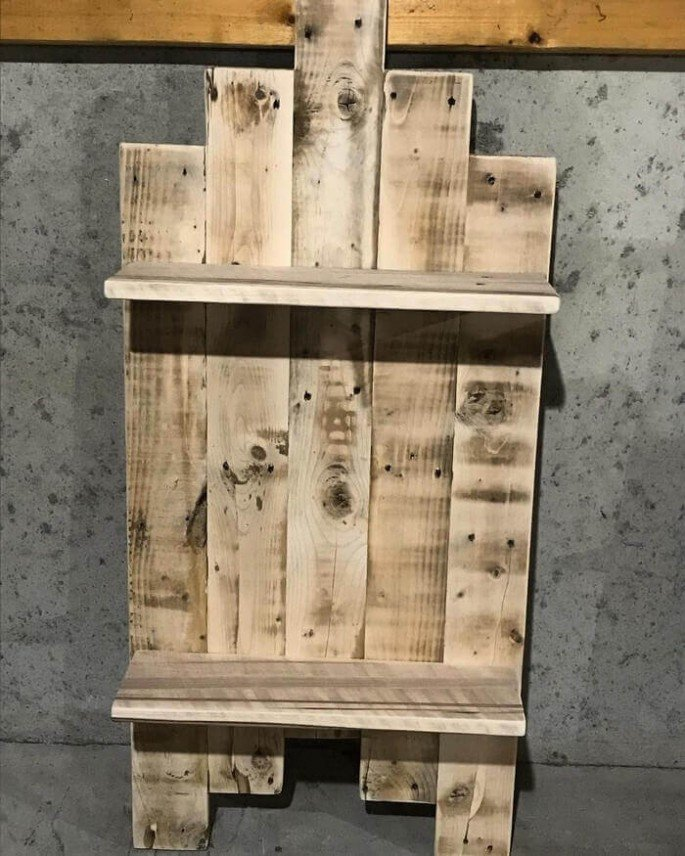 DIY Pallet Stylish Shelves Ideas!