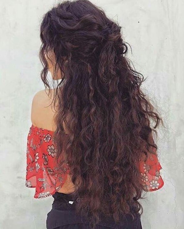 Mega Curls Long Hairstyles For Women