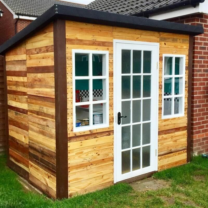 Pallet Wood Shed Plans Easy Craft Ideas