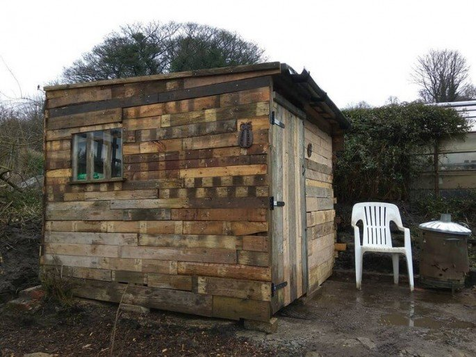 Pallet SHED PLAN FOR A SUPER TOOL SHED