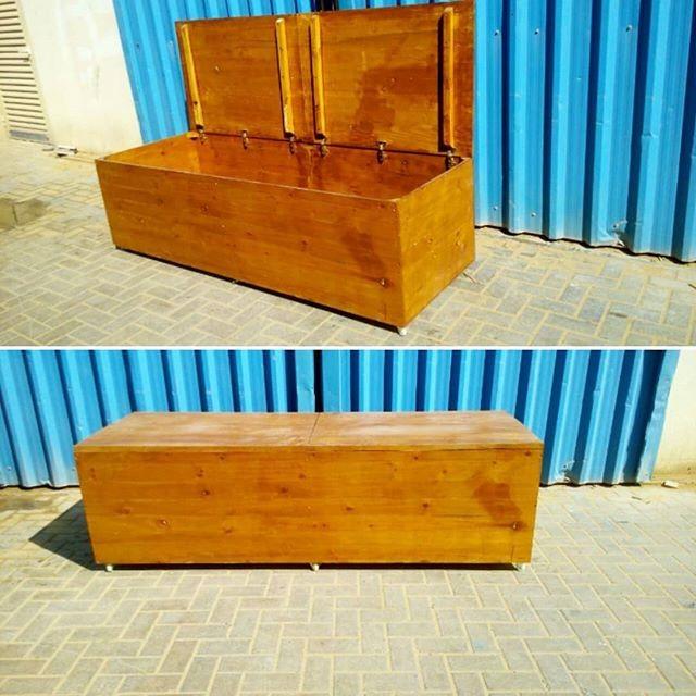 Pallet storage trunk