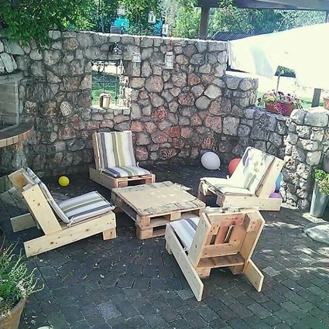 Outdoor Pallet Furniture Ideas To Blow Your Mind