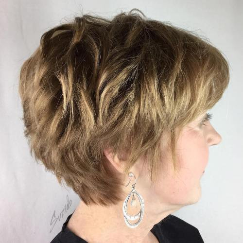 33 Classy Simple Short Hairstyles For Older Women Sensod