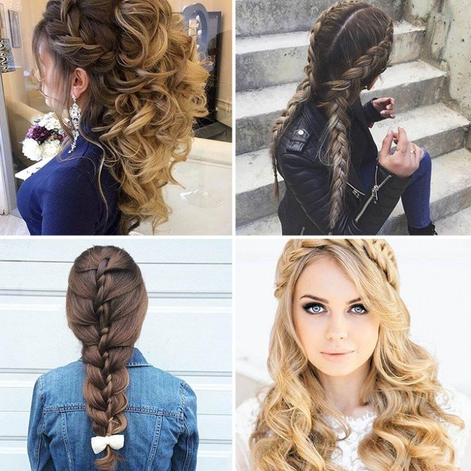 26 Cute Girls hairstyles for summer and winter season