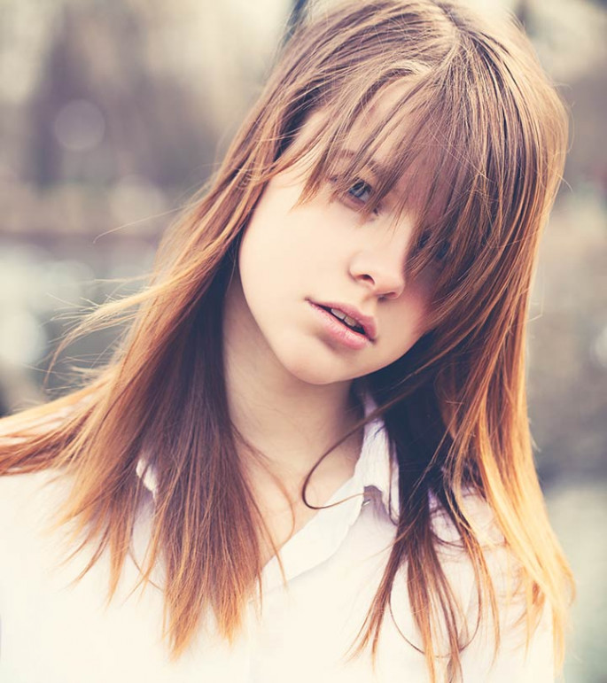 Faux Bangs Asian Hairstyles For Women