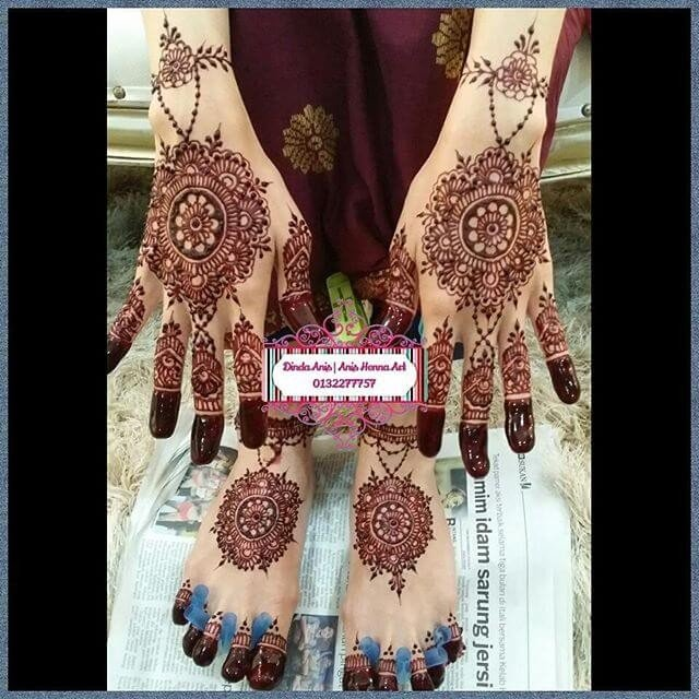 2018 Latest Mehndi Designs For Hands