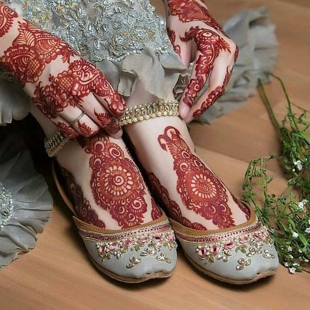 inspiring bridal mehndi designs ideas