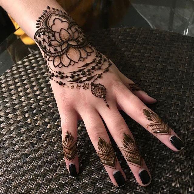 Compilation Of Best Mehndi Designs Trending Now